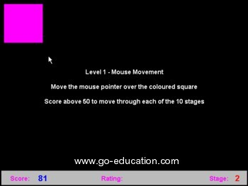 Basic Mouse Skills - mouse learning software